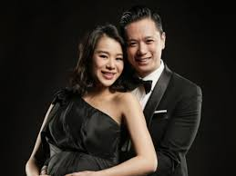 Myolie Wu and husband welcome their first baby