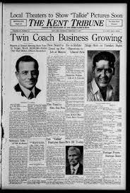 The Kent tribune. (Kent, Ohio), 1929-02-14 page 1 - Kent Tribune -