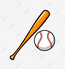 Dibujado A Mano Raqueta De Beisbol Ilustracion Bate De Beisbol