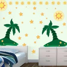 Palm Tree Wall Decals Palm Tree Wall Sticker
