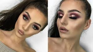rose gold prom makeup tutorial shelby