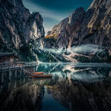 خلفيات طبيعة للايفون جبال نهر Hd 2020 مربع