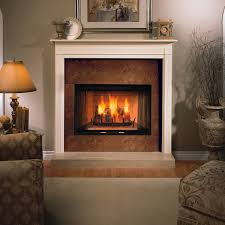 radiant wood burning fireplace