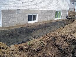 infiltration eau dans sous sol