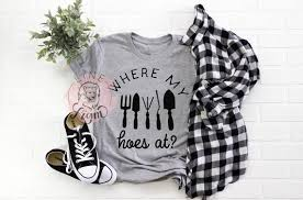graphic tshirt womens farming shirt