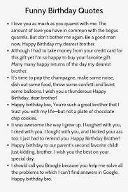 birthday quotes for brother brother quotes birthday caption for