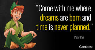 peter pan quotes about the beauty of innocence