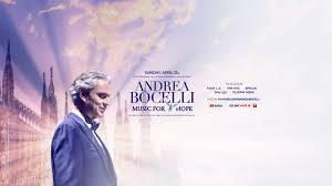 Andrea Bocelli Live Stream - YouTube