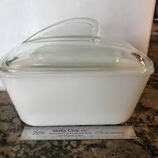 meatloaf casserole milk glass pan
