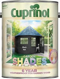 Cuprinol Cupgsbla5l 5 Litre Garden Shades Paint Black Ash Amazon Co Uk Diy Tools