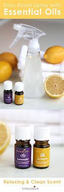 homemade lemon lavender linen spray