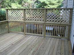 It S Great To Have Wonderful Backyard But Sometimes You Need Your Own Privacy So Here Comes The So Privacy Screen Outdoor Lattice Deck Privacy Fence Designs