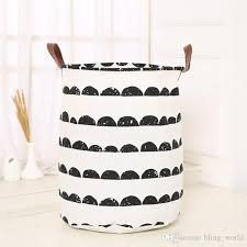 2020 Sundries Storage Bins Kids Room Toys Dirty Clothes Laundry Ins Basket Bins Organization Canvas Laundry Bag 18 Styles 40 50cm Baskets Lxl10 From Bling World 5 4 Dhgate Com