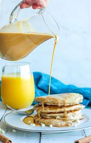 cinnamon pancakes snooze eatery