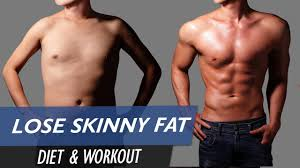 how to lose skinny fat and gain muscle