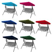 garden swing seat large outdoor cover