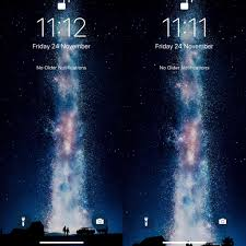 bugs wallpaper moving over time in ios