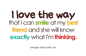 i love the way that i can smile friendship quote