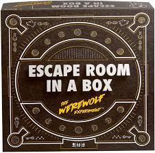 Amazon Com Escape Room In A Box The Werewolf Experiment Toys Games