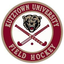 Kutztown University Field Hockey Die Cut Vinyl Decal Sticker 4 Sizes