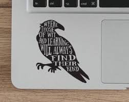 Harry Potter Laptop Decal Ravenclaw Quote Vinyl Sticker Ravenclaw Sticker Vinyl Decal Witchcraf Laptop Decal Vinyl Sticker Diy Qu Ravenclaw Diy Quotes Geeky