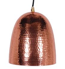 hammered pendant light mescar