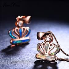 pendants necklaces vintage rose gold