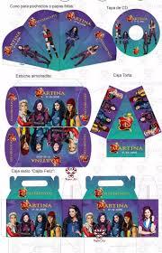 Kit Imprimible Descendientes Candy Invitaciones Cumpleanos 39