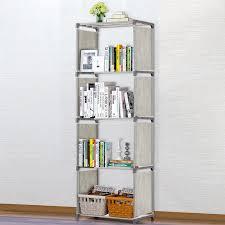 5 4 Layer Bookcase Simple Assembled Bookshelf Corner Closet Sundries Book Storage Organizer Shelf For Kids Book Rack Furniture Bookcases Aliexpress