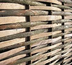Papillon Premium Weave Willow Hurdle Woven Wicker Wattle Garden Fence Panel 1 8m X 1 8m 6ft X 6ft Next Working Day Delivery With 2 Year Warranty Garden Privacy Protective Screens