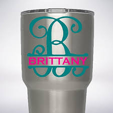 Product Reviews We Analyzed 261 Reviews To Find The Best Yeti Tumbler Initial Decal