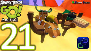 Angry Birds GO Android Walkthrough - Part 21 - STUNT: Track 1 ...