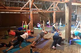 yoga retreats california running