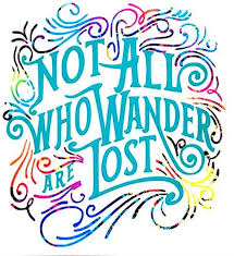 Amazon Com Not All Who Wander Are Lost Vinyl Decal Sticker Camping Rv Car Window Laptop Tumbler Water Bottle Bumper You Choose Size And Colors Handmade