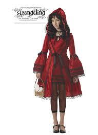 tween red riding hood costume