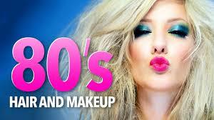 1980 s hair makeup tutorial you