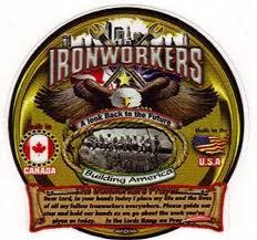 Ironworker Prayer Large Truck Window Decal See Through Decal Ironworkergear