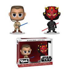 Funko Star Wars Darth Maul & Obi-Wan Kenobi VYNL. Merchandise ...