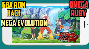 Pokemon Omega Ruby GBA rom hack with in match Mega Evolution For Android  And PC Free Download - YouTube