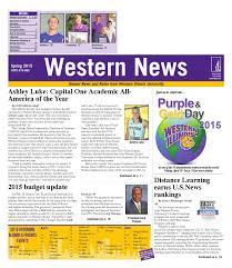 Western News - Spring 2015 by Western Illinois University - issuu