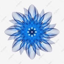 زهور زرقاء زهرة تزهر الزهور أزهار فنتازيا زهرة الزهور موضة Png