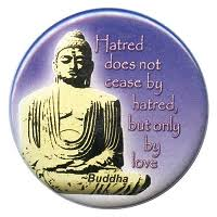 Buddha Light Art Decal Window Sticker