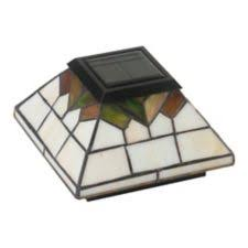 Classy Caps Stained Glass Post Light 2 Pk Canadian Tire