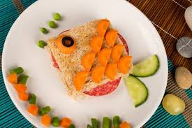 Przepis na kanapkę ze złotą rybką – wspaniała zabawa!