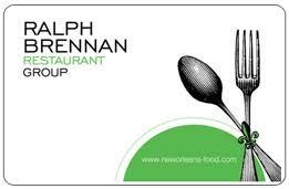 gift cards ralph brennan restaurant group