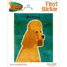 Apricot Poodle Dog Pet Vinyl Sticker Pet Breed Car Laptop Decal Ebay