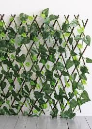 Garden Patio Privacy Screens Windscreens Uk Trellis Artificial Ivy Leaf Fence Wall Expanding Garden Uv Protected Decor Mtmstudioclub Com