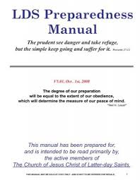 lds preparedness manual green trust org
