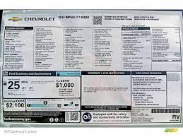 2014 Chevrolet Impala Lt Window Sticker Photo 82243701 Gtcarlot Com