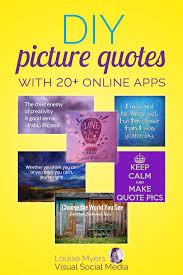 easy ways to make picture quotes online